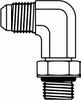 JIC to O-Ring - Long Elbow 90° -- FG6801-L-04-04 - Image