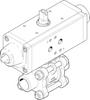 Ball valve actuator unit -- VZBA-11/4