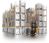 Wide Aisle Warehouse Pallet Racks
