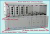 RJ45 Cat 5e A/B/OFF-Line Switch Module -- Model 7009