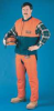 Chain Saw Vest,L,Orange,Nylon -- 3WJR5