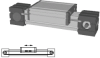 Internal Belt Driven Linear Actuator -- ELHZ 60 - Image