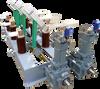 High Voltage AC: Disconnectors HAS range 12kV (630 to 12000Amp) -- HAS103P630A12KV