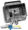 Leviton Rain Tight While-in- Use Duplex Receptacle Covers -- 5996