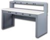 ELECTRONIC WORKBENCHES WITH PANEL LEGS -- HEB-1-3072P