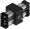 Dual Rack Indexing Actuators -- X22