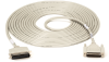 25ft Parallel Laser Printer Cable Centronics Male, DB25 Male -- BC00205 - Image