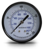 0-200 psi / 0-1400 kPa Pressure Gauge with 2.5 inch mechanical dial -- G25-BD200-4CB - Image