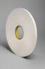 3M 4108 White Single Sided Foam Tape - 1/2 in Width x 36 yd Length - 1/8 in Thick - 03406 -- 021200-03406 -- View Larger Image