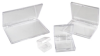 Clear Hinged Boxes -- 54697