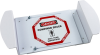 Brady B-302 Polyester Octagon White Confined Space Sign - Laminated - TEXT: CONFINED SPACE CALL YOUR SUPERVISOR - 47198 -- 754476-47198
