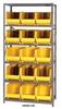 Giant Open Hopper Bin Storage System -- HQSBU-260-G -Image