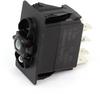 Carling Technologies VED1A60B-00000-000 1-Light, SPTT, On-On-On, 12V/20A Rocker Switch -- 44328 - Image