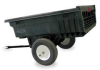Dump Cart,10 cu. ft.,1200 lb.,Pneumatic -- 56600BLA