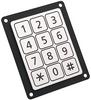 12 Key Piezo Keypad -- 1068.1012.1110001 - Image