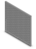 TE-CO Grid Plate - Aluminum - 12 X 12 X 1/2 in -- F015-0230