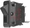Switch, Euro-Rocker,Illuminated,RATED:15A,125VAC;15A,28VDC, SPST,On-None-Off -- 70155794 - Image