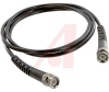 Cable Assy; 60 in.; 20 AWG; RG58C/U; Non Booted; Black Jacket; UL Listed -- 70197921