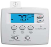 Thermostat,Low Voltage,Non Prog,2H/1C -- 16X604