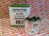 PROTECH 43-25134-01 ( CAPACITOR SINGLE OVAL-METAL FINISH 3UF 370VAC ) -Image