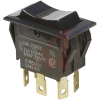 Switch, COMBI-Terminal, Rocker, DPDT, (ON)-OFF-(ON) -- 70132033 - Image