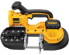 DEWALT 18V Heavy Duty Cordless Band Saw (Bare Tool) -- Model# DCS370B