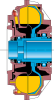 Fluid Coupling -- 487 TVVYSNG