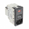 Power Entry Connectors - Inlets, Outlets, Modules -- 1-6609951-7-ND - Image