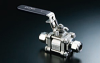 Swing-Out 3-Piece Ball Valve -- V83A-W4P10 - Image