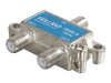 2-way splitter for antennas and cable TV -- 41017