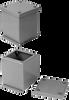 JIC Extra Deep Wiring Box -- PB37-1-BC - Image