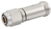 Precision N Female (Jack) to TNC Male (plug) Adapter, Passivated Stainless Steel Body, 1.2 VSWR -- FMAD1207 - Image