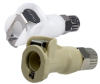 Polypropylene Shut-Off In Line Ferruless Poly Tube Fitting 1/8
