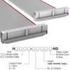Rectangular Cable Assemblies -- H3DDS-4006G-ND -Image