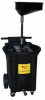 22-Gallon Portable Poly Oil Drain -- JDI-22DCX