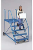 EUROKRAFT Truck/Dock Ladders with 50-Degree Safety Angle -- 7344901