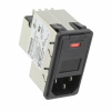 Power Entry Connectors - Inlets, Outlets, Modules -- 1-6609952-9-ND -Image