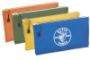 KLEIN TOOLS 4-Pack Canvas Zipper Bags -- Model# 5140