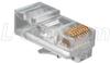 Modular Plug, RJ45 (8x8), Rectangular Entry Pkg/100 -- TSP3088