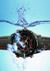 HD Water Resistant Wrist Watch Camera, 8GB