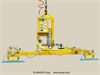 Compressed Air Powered Vacuum Lifter with Powered Tilt -- AT40M4-61-2/65OC - Image
