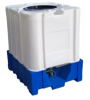 The Avenger - All Plastic 275 Gallon IBC -- 13075