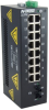 317FX Unmanaged Industrial Ethernet Switch, ST 80km