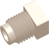1/2-20 UNF Commercial Grade Automotive Thread Plug, Natural -- AP085020SP00N - Image