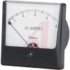 AC Voltage Meter, 0-50ACV, Iron-Vane; High Density Black Plastic; + 2% -- 70209377