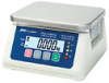 A&D SJ-15KWP Compact Washdown Scale. 33lb -- GO-11116-01