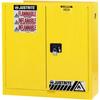 Hazardous Liquid Safety Storage Self-Close Cabinet -- CAB25302-YELLOW