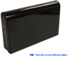 "3.5"" Metal Glossy eSATA External Enclosure -- EEA323"