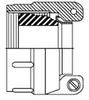 MS3057-xxB STRAIN RELIEF -- MS3057B