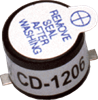 Audio Transducers: Magnetic Buzzer -- CD-1206-SMT